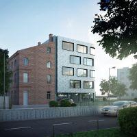 Krasickiego - budynek mieszkalno-usługowy